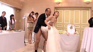 Bride Takes Uncle, 2 Friends, Groom At Japanese Wedding 2