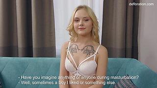 Hot virgin masturbation by Lucy Blond