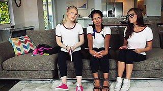BFFS- Naughty Teen Tutors Seduce Student