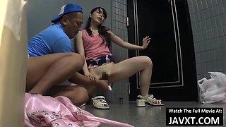 Hot Asian Teen Fucked In Public Toilet Hd