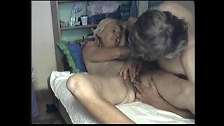 Hungarian amateur old couple homemade sextape #1