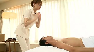 Best Japanese chick Akiho Yoshizawa in Hottest small tits, couple JAV clip