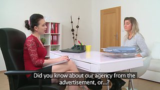 Aroused lesbians share their lust in a kinky cam play