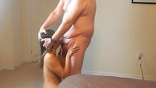 She likes to be abused and face fucked