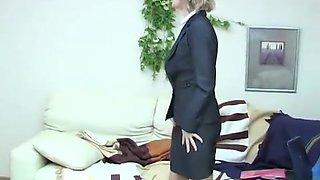 Mature Pantyhose #59