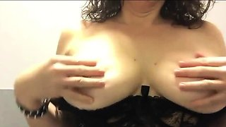 pussy and and anal solo in our toilet