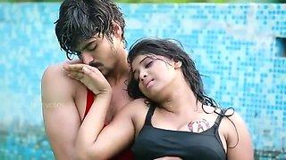 Uma Devi Romance In Swimming Pool