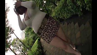 Horny homemade Flashing, Big Tits adult video