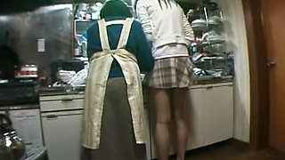 Azusa Ayano in Visit Family Home