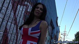British ho bukkake black