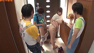Japanese Mom Turned Into Sex Slave By Evil Shota