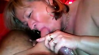 Homemade tape of a real old couple fucking good
