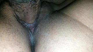 Cum in pussy with Hindi audio