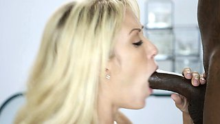 Cheating Wife Capri loves Big Black Cock Creampie