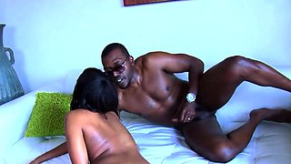A big cock for a gorgeous black slut