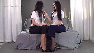 Oriental Goddess, Feet Bondage, Asian Lesbians