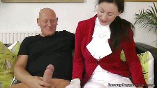 An anal ride