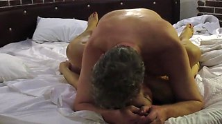 THAI, BBW MILF Cowgirl Fuck and Deep Missionary