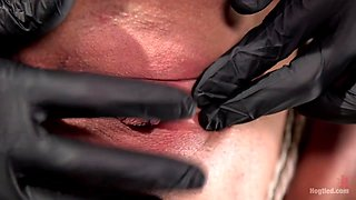 Ariel X  The Pope in Ariel X - Extreme Bondage, Brutal Torment, And Squirting Orgasms - HogTied