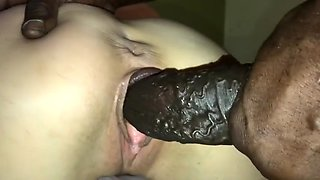 monster bbc inside petite blonde wife