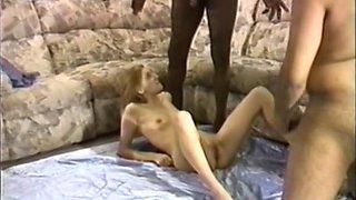 JanB introduces Ann to two large blackmen