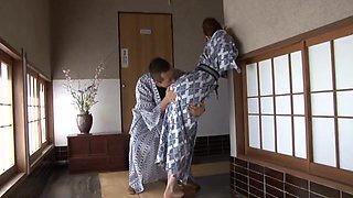 Small tits cutie Misuzu Takashima gets fucked balls deep in outdoors