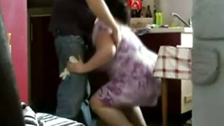 Chubby Arab housewife blows my dick and wants quickie