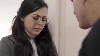 Perv social worker takes advantage of a trobuled teen - Whitney Wright - PURE TABOO