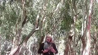 Real Dogging Sex Cum Slut Aluna in the Park.