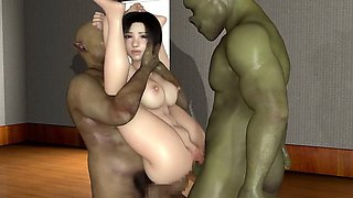 Erobitch Yui - Incredible 3D anime xxx movies
