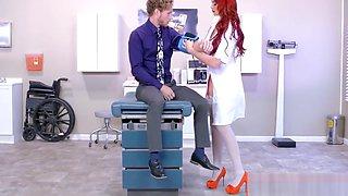Doctor and Redhead Nurse