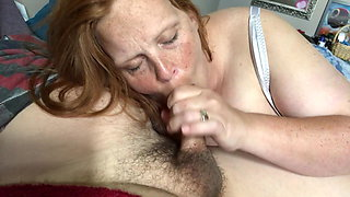 Wife sucks and swallows
