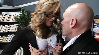 School principal gives school teacher a sex ed lesson