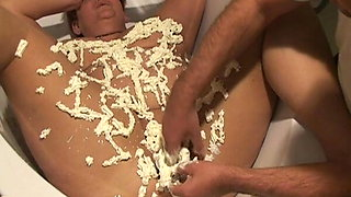 Annadevot - Champagne and cream as a punishment