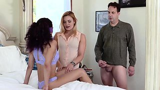 Classic daddy Family Sex Education