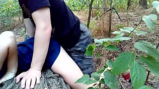 Fuck After College Class In The Woods