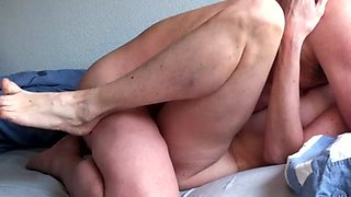 mature wife cries after sweet sex