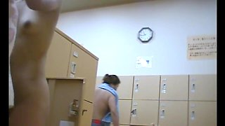 Japanese Bath House Hidden Cam 2!