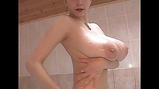 Huge tits college girl russian girl with g cup boobs