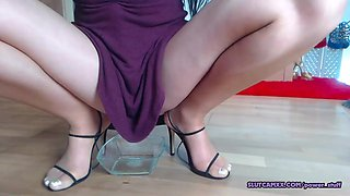 Ukrain Mom Is Trying To Squirt
