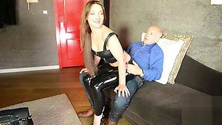 Julie Skyhigh - Hooker In Legging Latex And Hot Chick Full Time Job