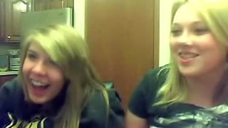 friends showing tits together on webcam