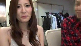 Incredible Japanese whore Yuna Shiina in Amazing Handjob, Big Tits JAV scene