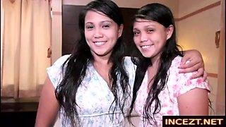 Real filipina twins