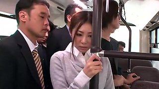 Incredible Japanese model Minori Hatsune in Amazing Outdoor, Public JAV video