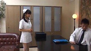 Doctor Has Hina Hanamis Tight Nurse Pussy To Fuck