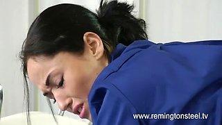 English Nurse get Spanked