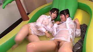 Horny Japanese slut Yu Sakura in Exotic JAV censored Cumshots, Big Tits scene