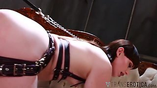 TRANSEROTICA Mistress Dominates River Enza And Natalie Mars