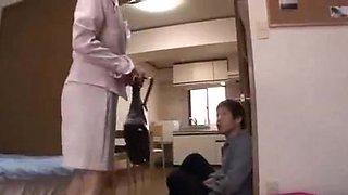 My Beautiful Aunt Came to My house Yuko Shiraki